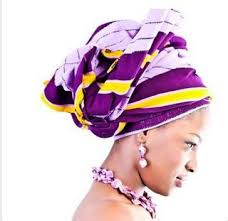african head ties