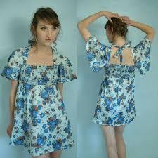 70s mini dress