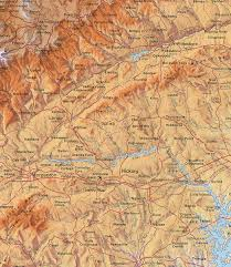 map of nc mountains
