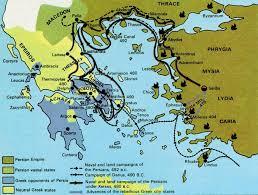 persian wars maps