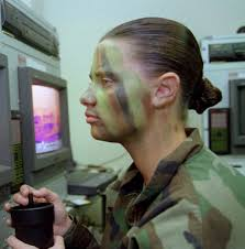 army camouflage face paint