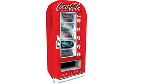 coca cola soda machines