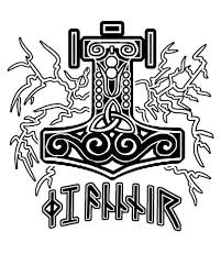 hammer of thor tattoo