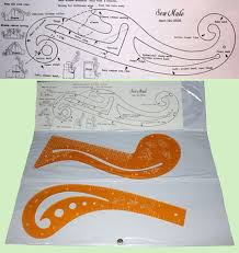 french curve template