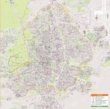 mapa de madrid centro