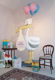 baby shower stork