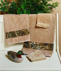 camouflage towels
