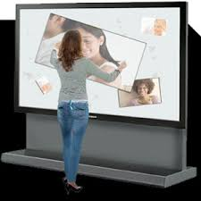 plasma touch screen