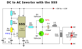 dc to ac inverter circuits
