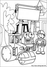 bob the builder coloring book