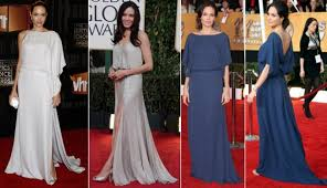 angelina jolie red carpet dresses