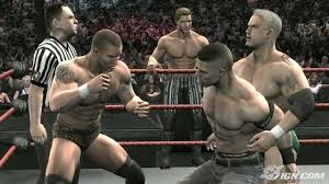 smackdown vs raw 2009 john cena