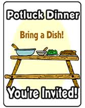 potluck party invitations