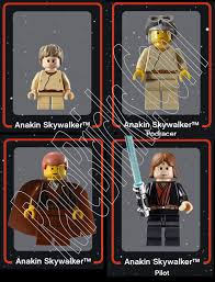 anakin skywalker legos