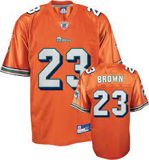 miami dolphins orange jersey