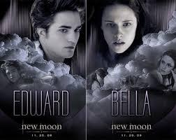 new moon movie poster edward