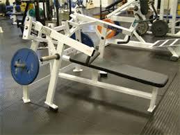 hammer strength bench press