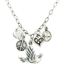 peace and love necklaces