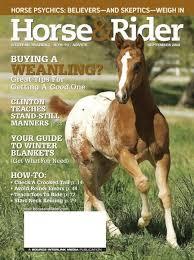horse riding magazine