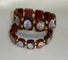 religious wooden bracelets
