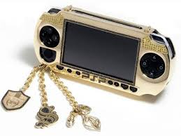 gold psp cover