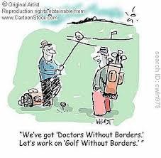 golf borders