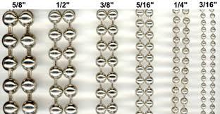 metal bead curtains