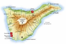 teneryfa mapa