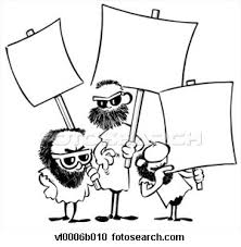 picketing signs