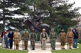 history of us military uniforms