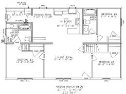 floor plan ranch