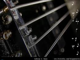 neon guitar strings