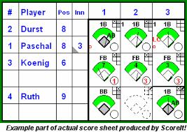 baseball stat book