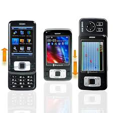 dual slide cell phones