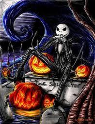 jack skeleton coloring pages
