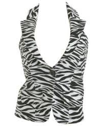 animal print vests