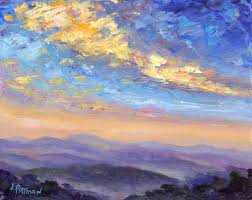 paintings of skies