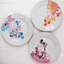 painting plates