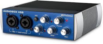 presonus audio box usb