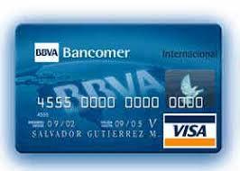 tarjetas bancomer