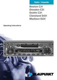 blaupunkt radio cassette