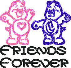best friends glitter graphics