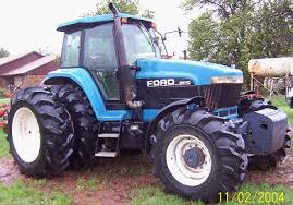 ford new holland equipment