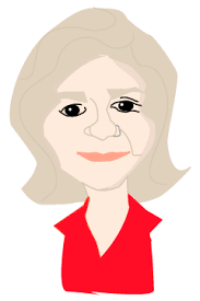caricatura de mujer