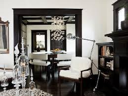 black painted room