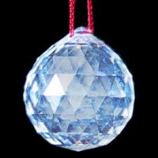 faceted crystal