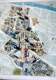 map of la defense