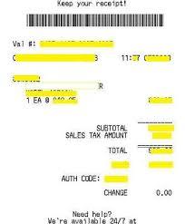 cab receipt template