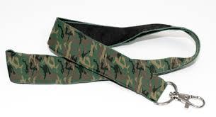 camouflage lanyards