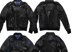 leather denim jacket